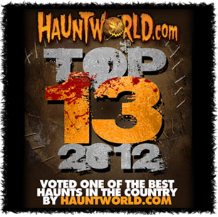 Haunt World America's Top 13